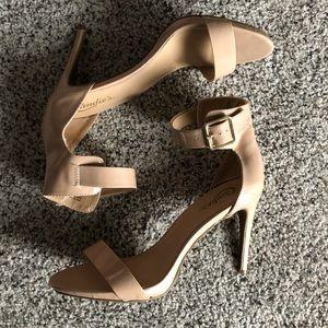 """Candie's Nude 4"""" Heels"""